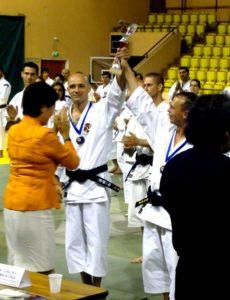Валерий Карибьян - двукратный чемпион Европы по Сёриндзи Кэмпо